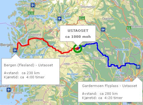 kart over ustaoset Larsebu   Ustaoset hytteutleie kart over ustaoset